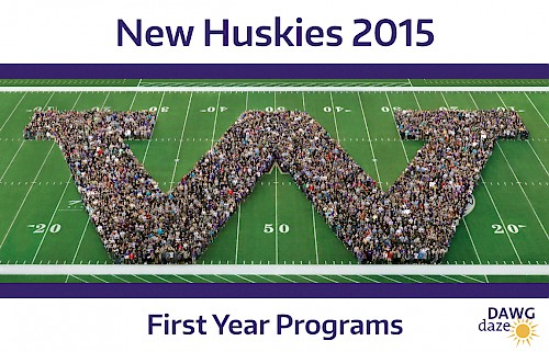 The 2015 Husky Kick-Off photo.